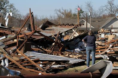 Devastation at Brookport, IL