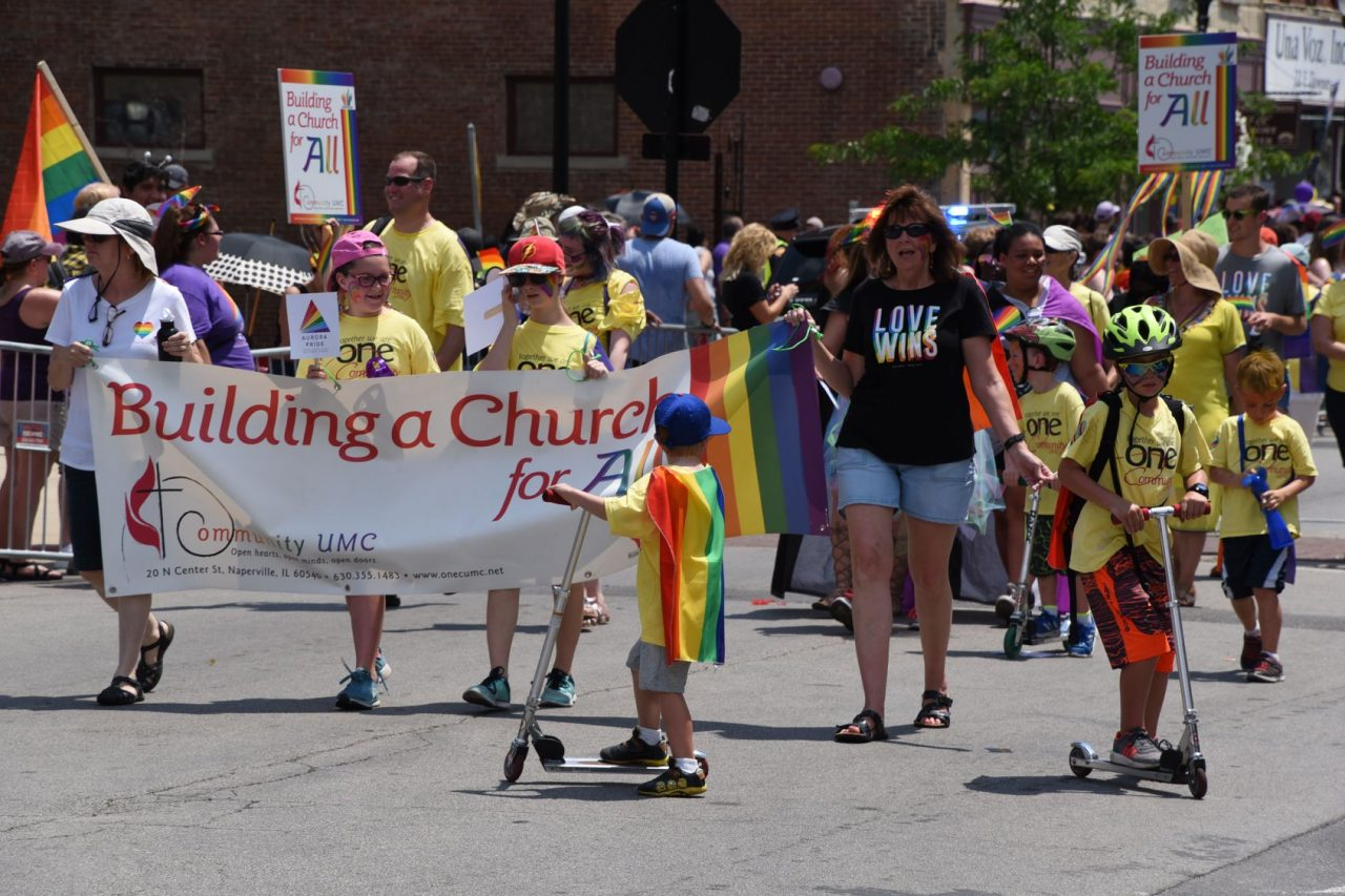 2018 Aurora Pride Parade: Marching