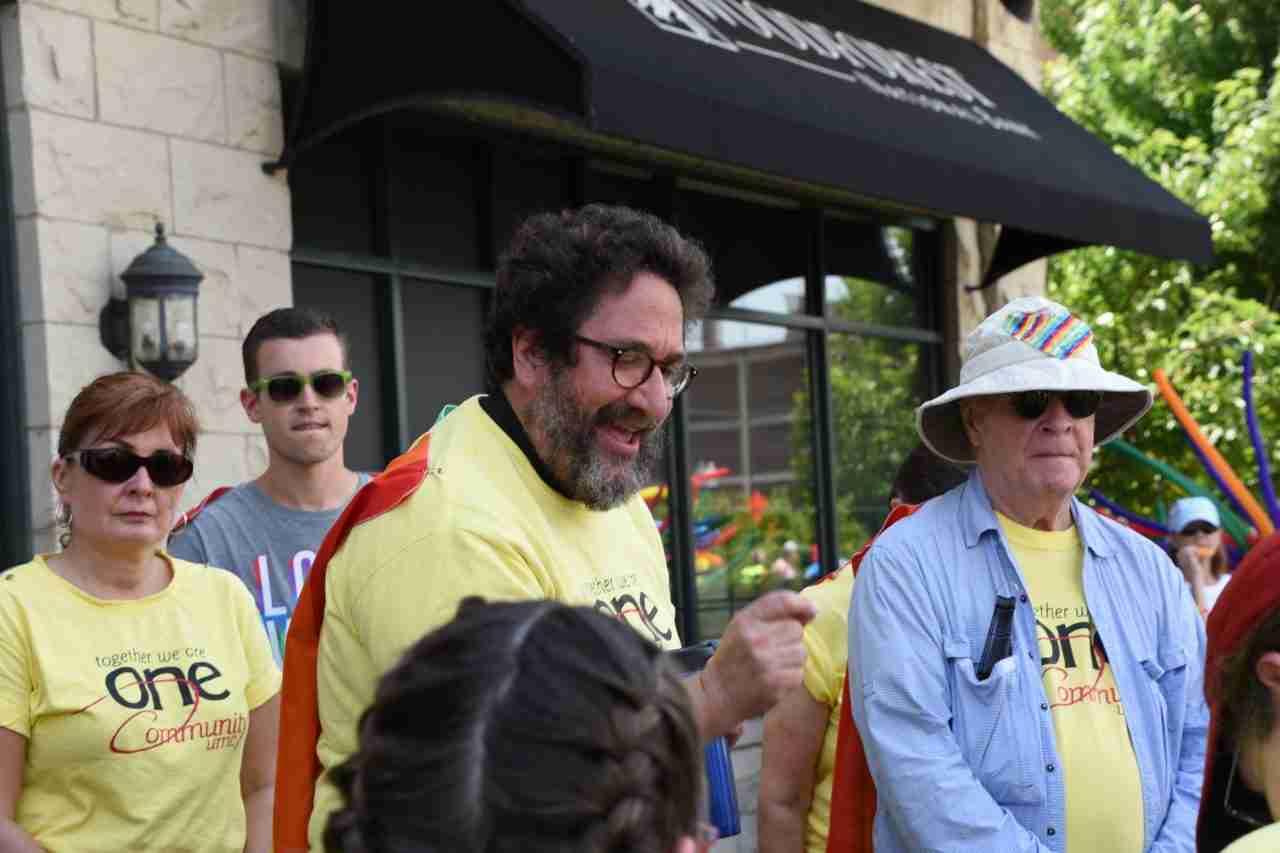2018 Aurora Pride Parade: Deacon Nick