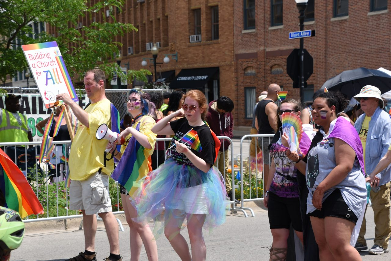 2018 Aurora Pride Parade: Leading the Chant – What Wins, Love Wins!