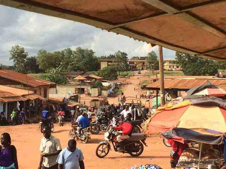 Downtown Gbanga