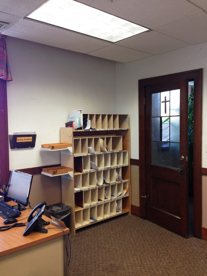 Our new digs – day 3: mailboxes
