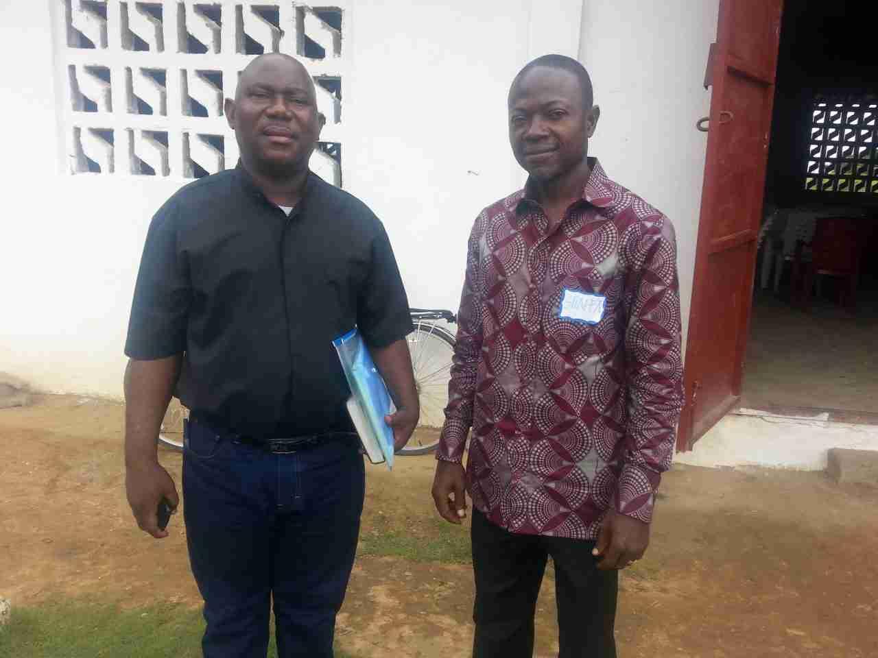 Rev. Bommassee and Rev. Shaffa Seward