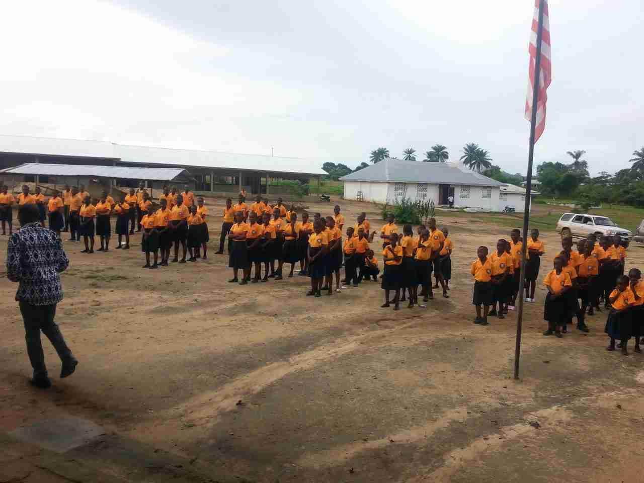 The school in Bopolu