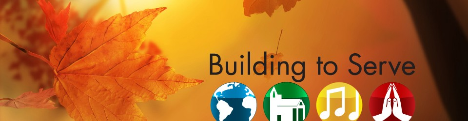 [Building to Serve logo for capital campaign]