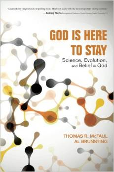 [book cover of God is Here to Stay]]