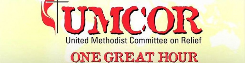 [UMCOR One Great Hour of Sharing logo]