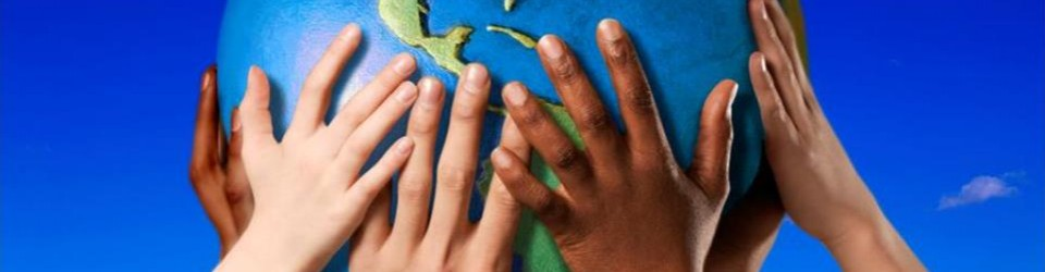[diverse hands holding the globe]